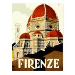 Vintage Italian Tourism Poster Postcard