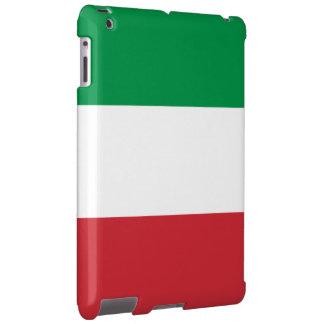 Vintage italiano de la bandera funda para iPad