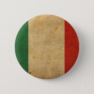 Vintage Italy Flag Button