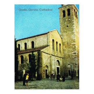 Vintage Italy, Grado, Gorizio, Cathedral Postcard