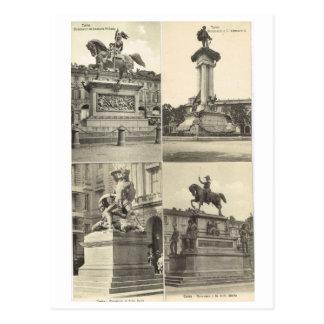 Vintage Italy, Italian Monuments Postcard