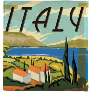 Vintage Italy Poster Statuette
