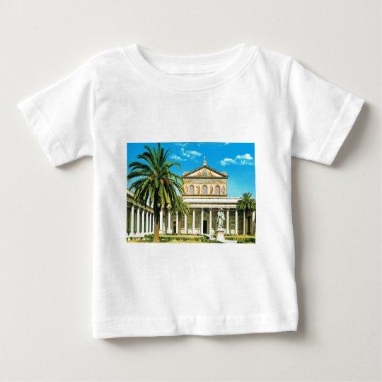 Vintage Italy,  Rome, S Paulo fuori les mura Baby T-Shirt