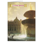 Vintage Italy, Rome, Vatican, St Peter's Greeting Card