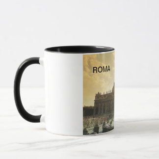 Vintage Italy, Rome, Vatican, St Peter's Mug
