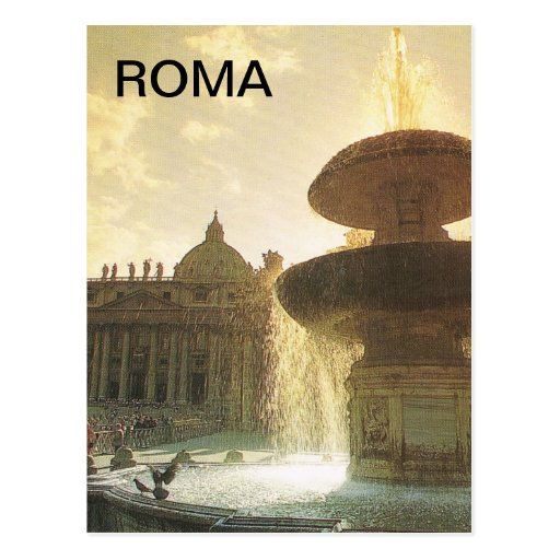 Vintage Italy, Rome, Vatican, St Peter's Post Cards