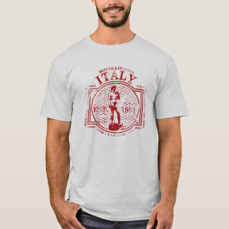 Vintage Italy - Statue of David Postage Seal T-Shirt