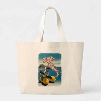 Vintage Italy Travel Tote Bags