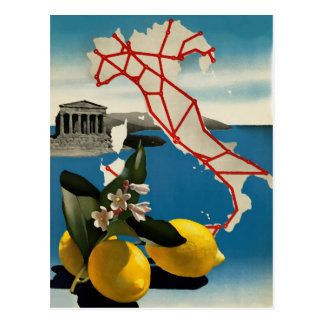 Vintage Italy Travel Postcard