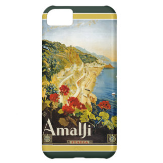 Vintage Italy Travel Poster iPhone 5 Case-Mate Cover For iPhone 5C
