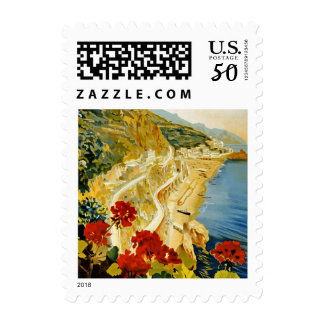 Vintage Italy Travel Small Postage