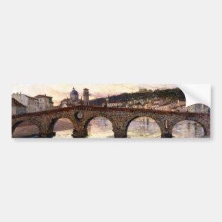 Vintage Italy (Verona, Circa 1894) Bumper Sticker