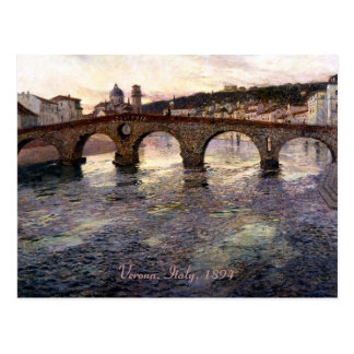 Vintage Italy (Verona, Circa 1894) Postcard