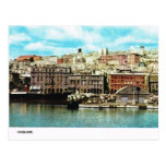 Vintage Italy,  Waterfront, Cagliari Postcards