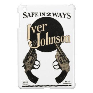 Vintage Iver Johnson Revolver Ad iPad Mini Case