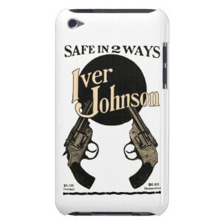 Vintage Iver Johnson Revolver Ad iPod Touch Case