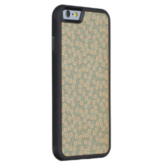 Vintage Ivory Flowers Pattern Carved® Maple iPhone 6 Bumper