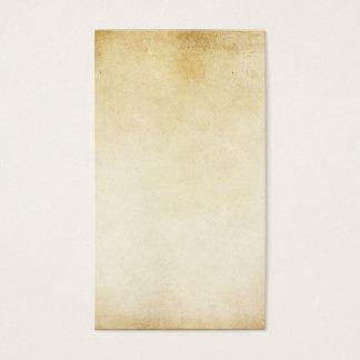 Vintage Ivory Grunge Parchment Paper Background Business Card