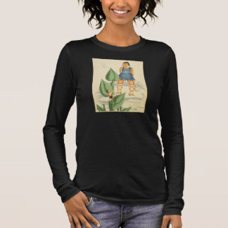 Vintage Jack and the Beanstalk WPA Poster Long Sleeve T-Shirt