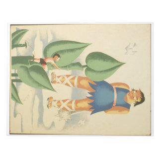 Vintage Jack and the Beanstalk WPA Poster Notepad