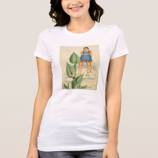 Vintage Jack and the Beanstalk WPA Poster T-Shirt