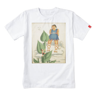 Vintage Jack and the Beanstalk WPA Poster Zazzle HEART T-Shirt