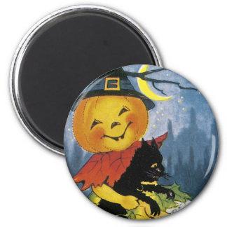Vintage Jack o' Lantern Child Magnet