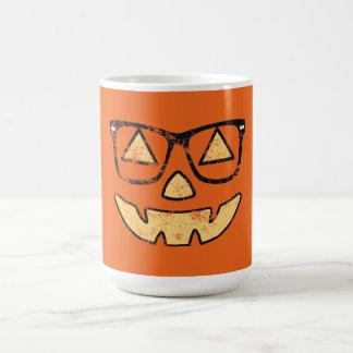 Vintage Jack-O-Lantern With Glasses Coffee Mug