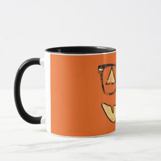 Vintage Jack-O-Lantern With Glasses Coffee Mug