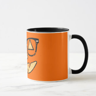 Vintage Jack-O-Lantern With Glasses Halloween Mug
