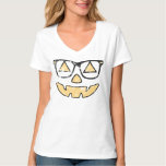 Vintage Jack-O-Lantern With Glasses Halloween Tshirts