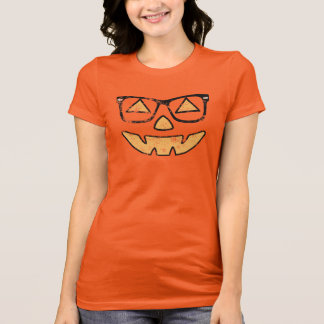 Vintage Jack-O-Lantern With Glasses T-shirt