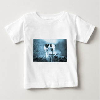 Vintage Jack Russell Cyan Tone Baby T-Shirt