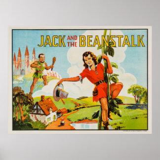 Vintage Jack y el Beanstalk