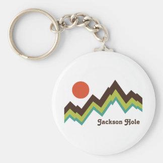 Vintage Jackson Hole Keychain