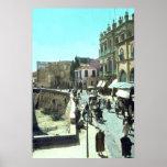 Vintage Jaffa Gate Jerusalem Israel 1950 - 1977 Posters