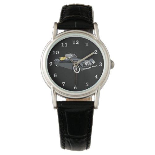 Vintage Jaguar Car Watch