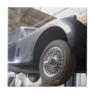 Vintage Jaguar L XK 140 1952 Azulejo Cuadrado Pequeño