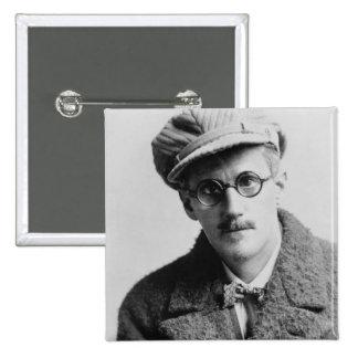 Vintage James Joyce Portrait Pinback Buttons
