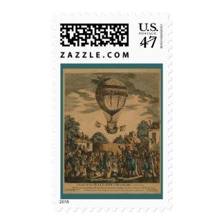 Vintage James Sadler Hot Air Ballon Postage