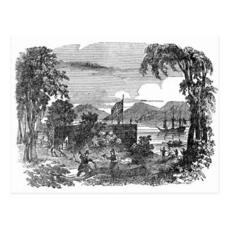 Vintage Jamestown Colony postcard