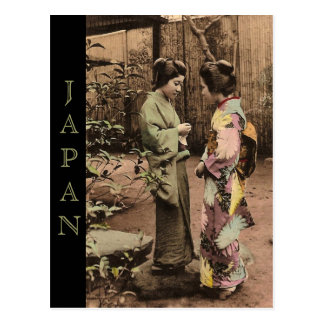 Vintage Japan Postcard