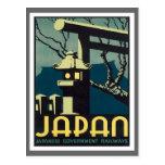 Vintage Japan Railways Postcard