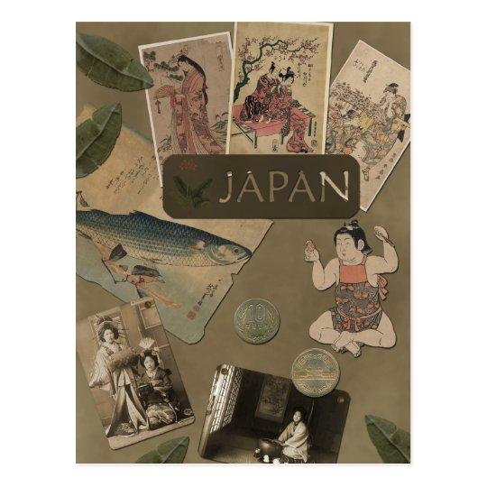 "Vintage ""Japan"" Scrapbook Postcard"