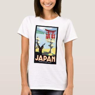 Vintage Japan Travel Poster T-Shirt