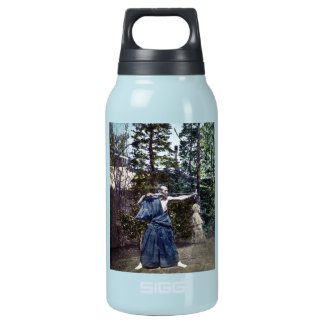 Vintage Japanese Archer 射手 Insulated Water Bottle