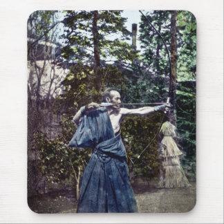 Vintage Japanese Archer 射手 Mousepad