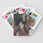 VIntage Japanese Art Bicycle Playing Cards