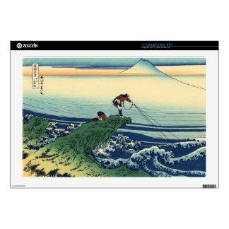 """Vintage Japanese Art Kajikazawa Fisherman Skins For 17"""" Laptops"""