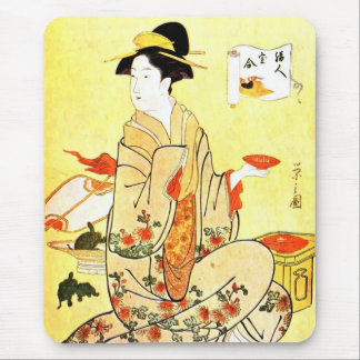 Vintage Japanese art mousepad
